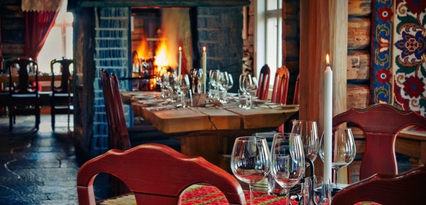 Restauranten i Vianvang ved Lom, Arne Brimi