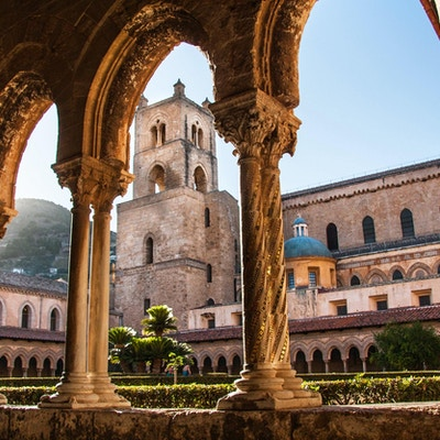 Katedralen i Monreale, Sicilia, Italia