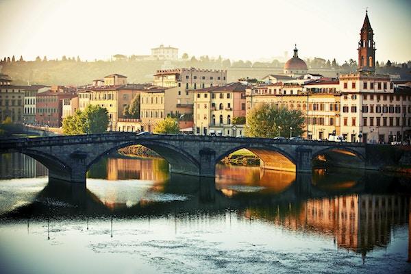 Firenze om morgenen, Italia