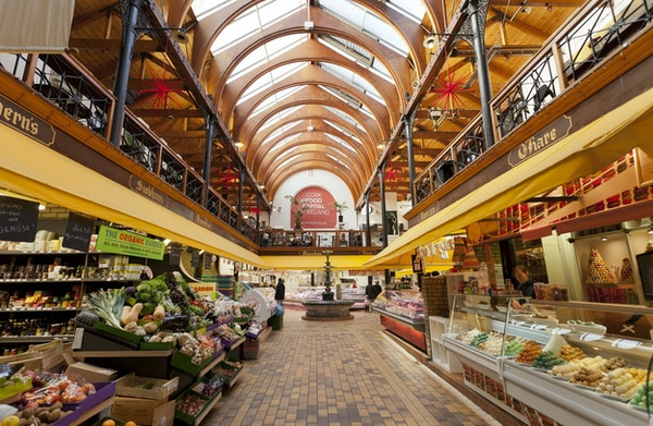 Cork food Capital sitt frodige matmarked