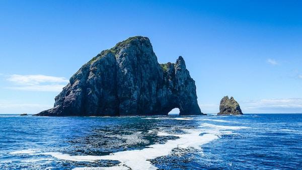 Båttur til Hole-in-the-Rock er forfriskende!