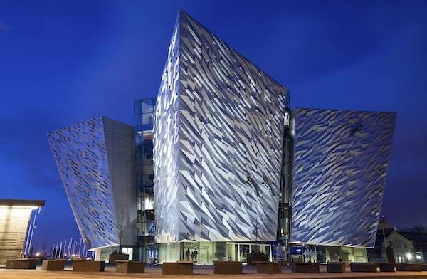 Titanic museet i Belfast