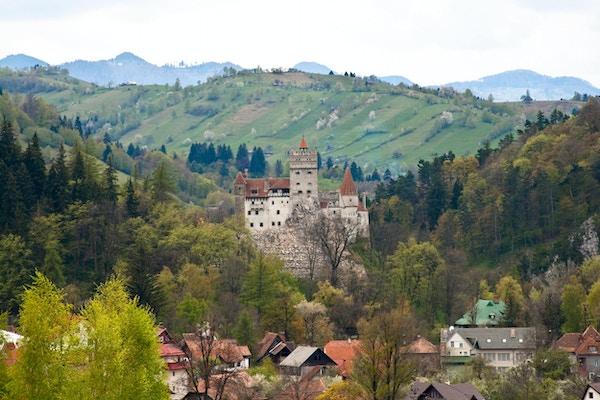 Dracula sitt slott i Romania