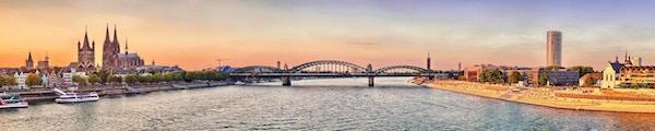 Köln-panorama (Tyskland)