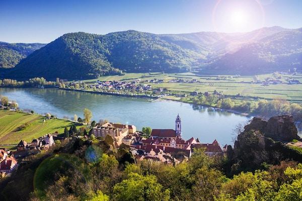 Dürnstein, Wachau-dalen. Østerrike.