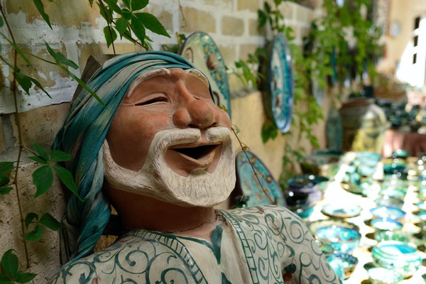 Keramikk i Rishtan, Usbekistan.
