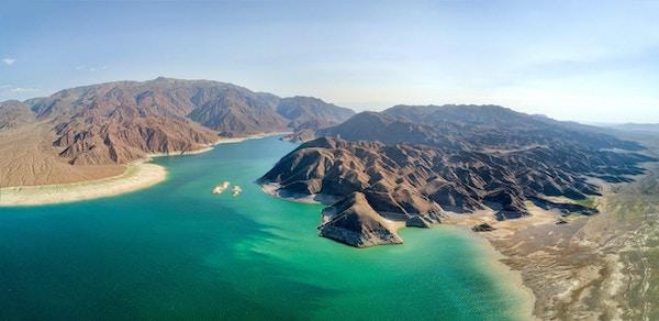 Orto Tokoy Reservoir i Kirgisistan