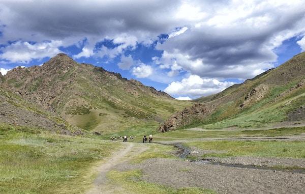 Yol Valley i Gobi-ørkenen, Mongolia