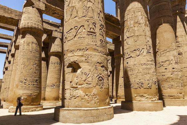 Karnak-tempelet i Luxor.
