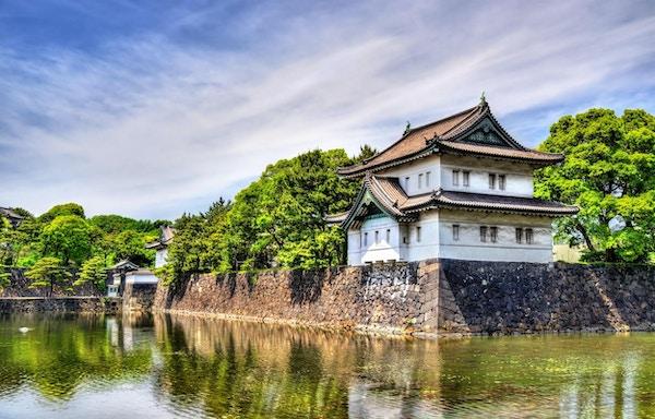 Tatsumi Yagura, et forsvarstårn ved det keiserlige palasset, Tokyo