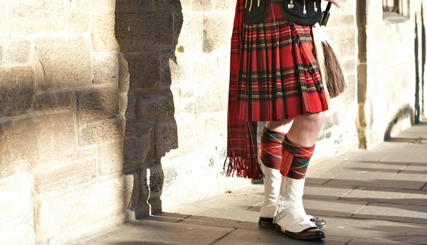 Tradisjonell skotsk kjole