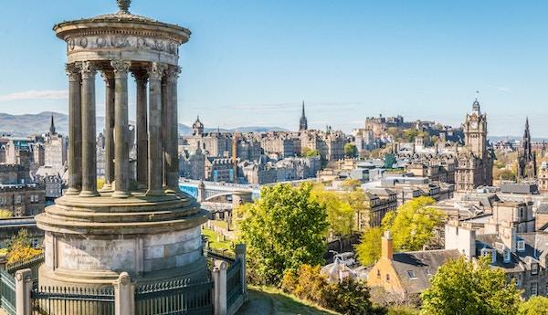 Edinburgh sentrum, Skottland