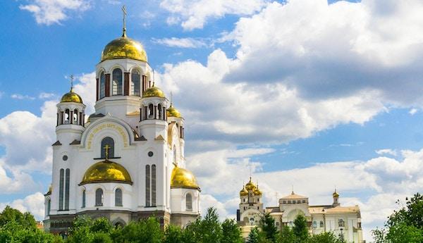 Ortodoks kirke i Yekaterinburg