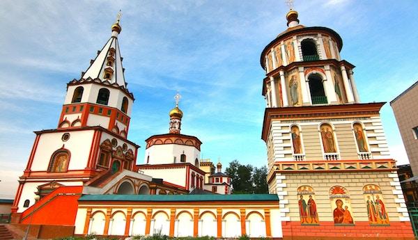 Epifany katedralkirke i Irkutsk, Russland