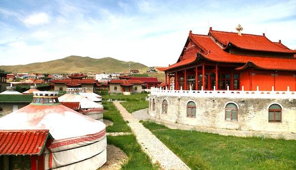 Mongolia-palasset ved Ulaanbaatar, Mongolia