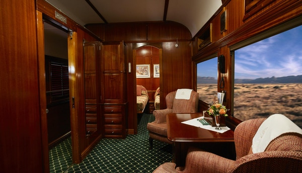 Suite på tog
