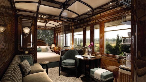 Resturantdetalj, Venice Simplon Orient Express