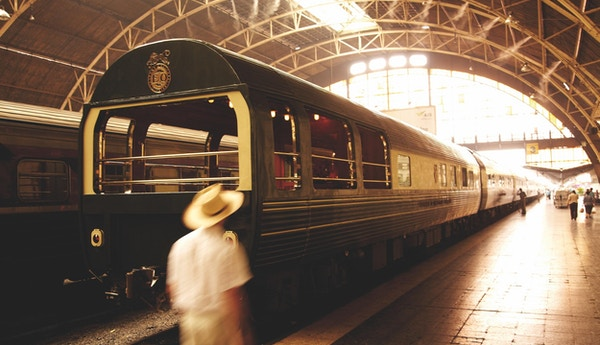 På reise med Eastern & Oriental Express