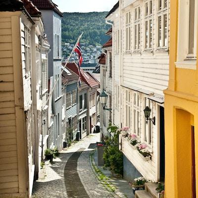 Gate i Bergen