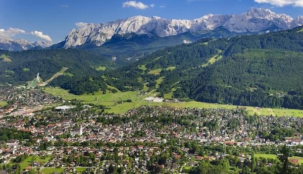 Byen Garmisch-Partenkirchen