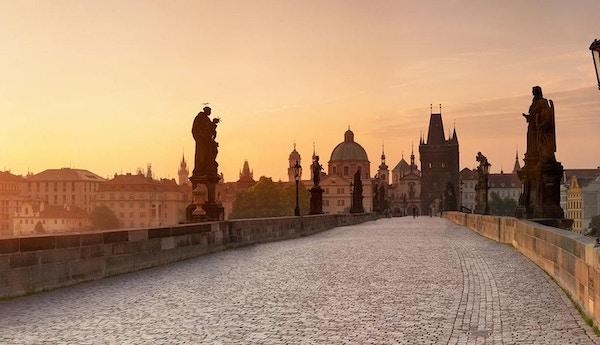 Bybilde i vakre Praha