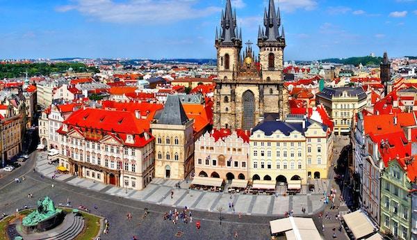 Torget i Praha