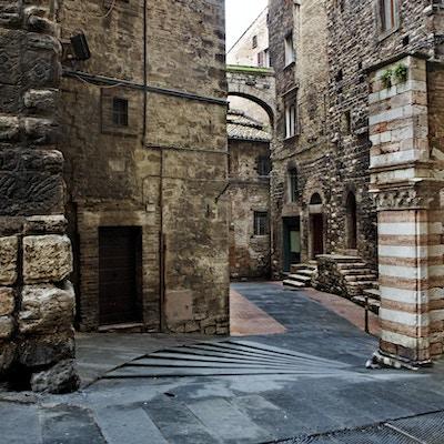 Perugia byr på vakker arkitektur
