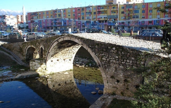 Albania tirana bridge
