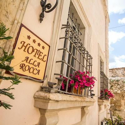 Hotell i Trevi, Italia.