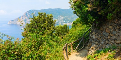 Kysttursti i Cinque Terre, Italia