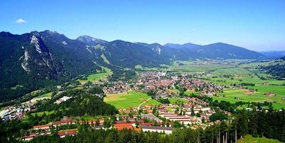 Oberammergau oversiktsbilde