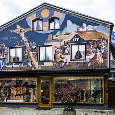 Oberammergau fasade