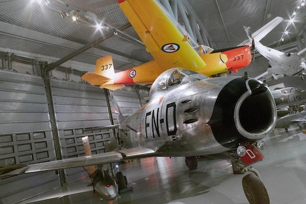 Fly inne i flymuseet