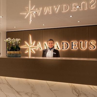 Resepsjonen på elvecruiseskipet Amadeus Imperial