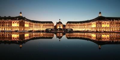 Kveldsstemning i Bordeaux