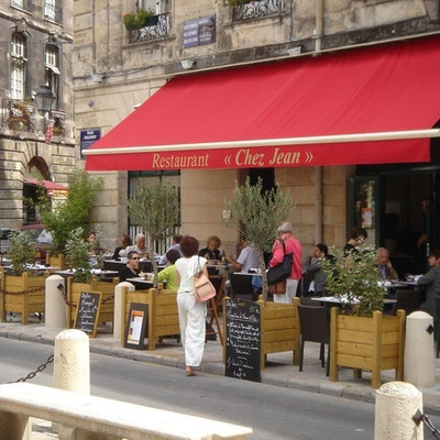 Bordeaux place du parlement restaurant