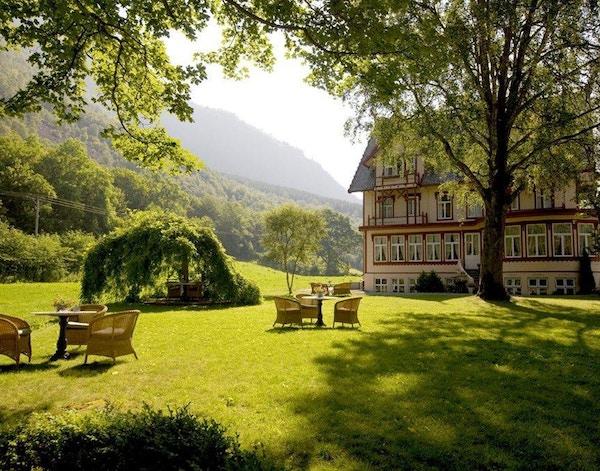Natur, sitteplas, hotell