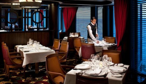 Chops Grille, spesialitet, servering, mat og drikke, Rhapsody of the Seas?