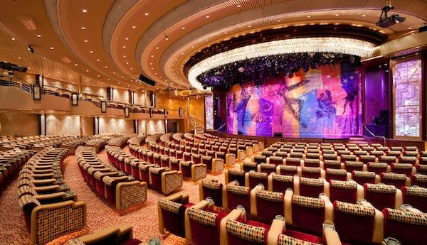 Grandeur of the Seas, Public Spaces, Palladium, Theatre, GR, Revitalization,