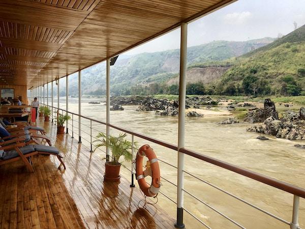 Et cruise gjennom Laos på Mekong er en eventyrlig opplevelse!