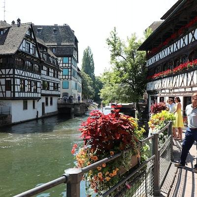 På besøk i Strasbourg
