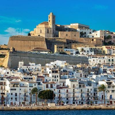 Gamlebyen i Ibiza