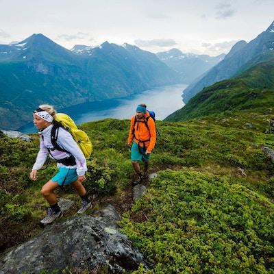 Natur, mennesker,fjord
