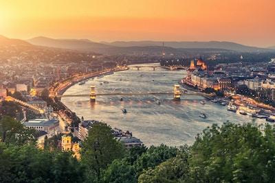 Budapest bybilde, Ungarn