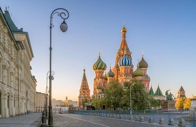 St. Basil's Katedralen i Moskva