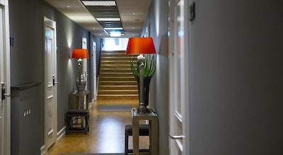 Hotellkorridor på Hotell Continental du Syd i Ystad, Sverige
