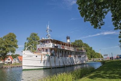 båt, kanal
