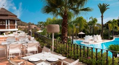Marbella la quinta golf country club lunsjrestaurant