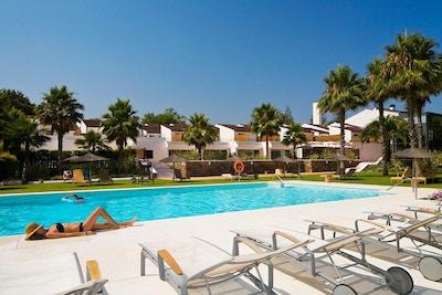 Basseng med palmer, Hotel Encinar de Sotogrande, Estepona, Spania