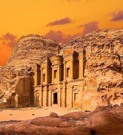 Unike Petra i Jordan